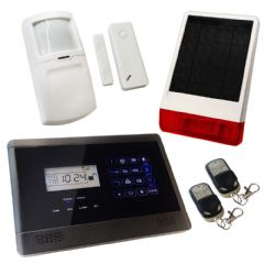 Sentry Pro Wireless GSM Auto Dial House Alarm Solar Solution 1